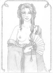geisha seductress by rokugan