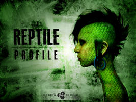 Reptile Profile by EfGraphicDesing