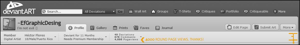 4000 Pageviews