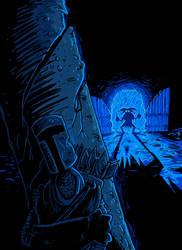 Cover art for Knights #2 by AcherontiaDomus
