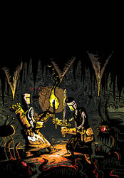 Cover art for Knights #1 by AcherontiaDomus