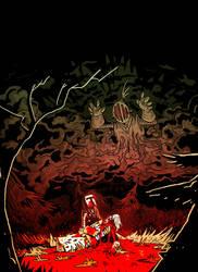 Knights #3 cover art by AcherontiaDomus