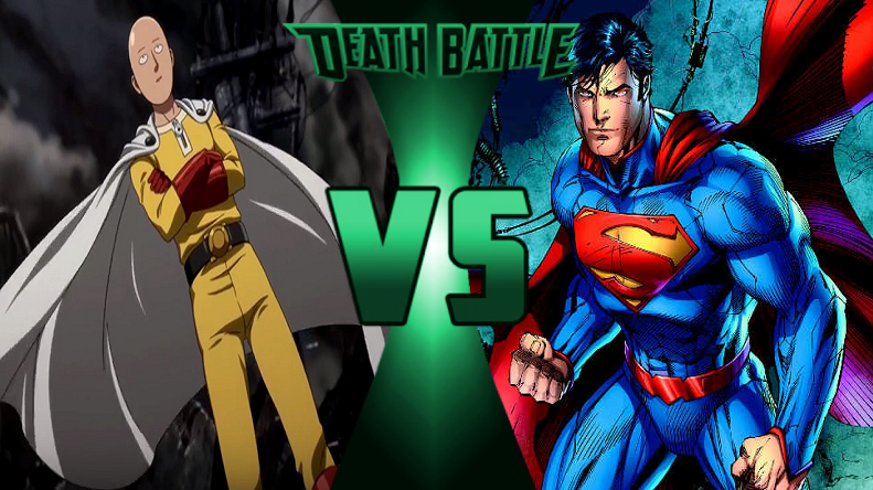 Saitama Vs Superman By Goldsilverbronzekid