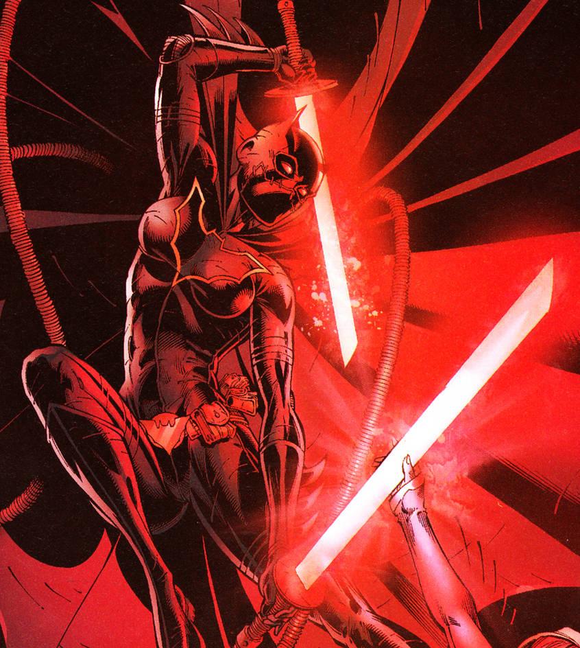 Cassandra Cain Strikes Terror Into Death Battle! by