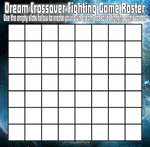 Dream Crossover Fighting Game Roster by goldsilverbronzekid