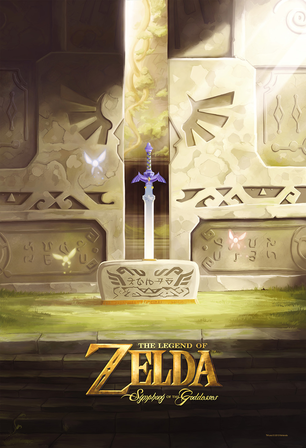 Symphony of the Goddesses Second Quest Poster by wehave1problem
