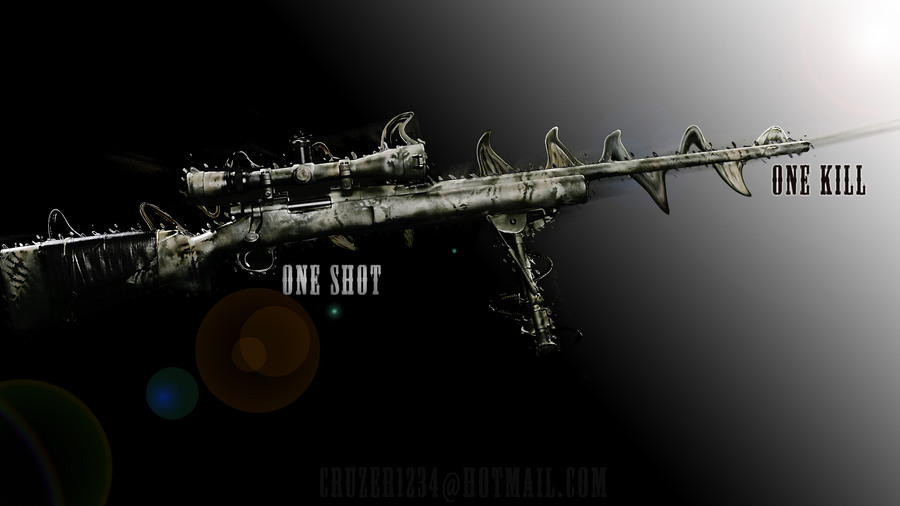 One Shot Kill Sniper Wallpaper HD By Cruzer480