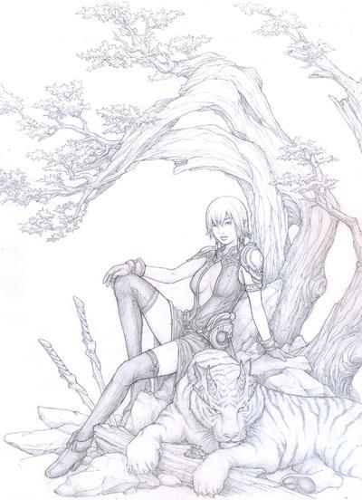 sworddancer by gertruida