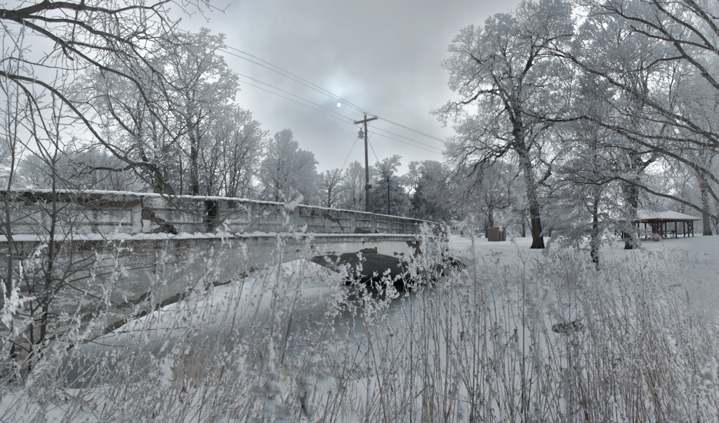 Twin Bridges Park - Winter by Anachronist84