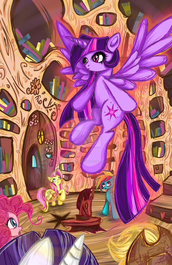 Twilly's got wings! by BuckingAwesomeArt