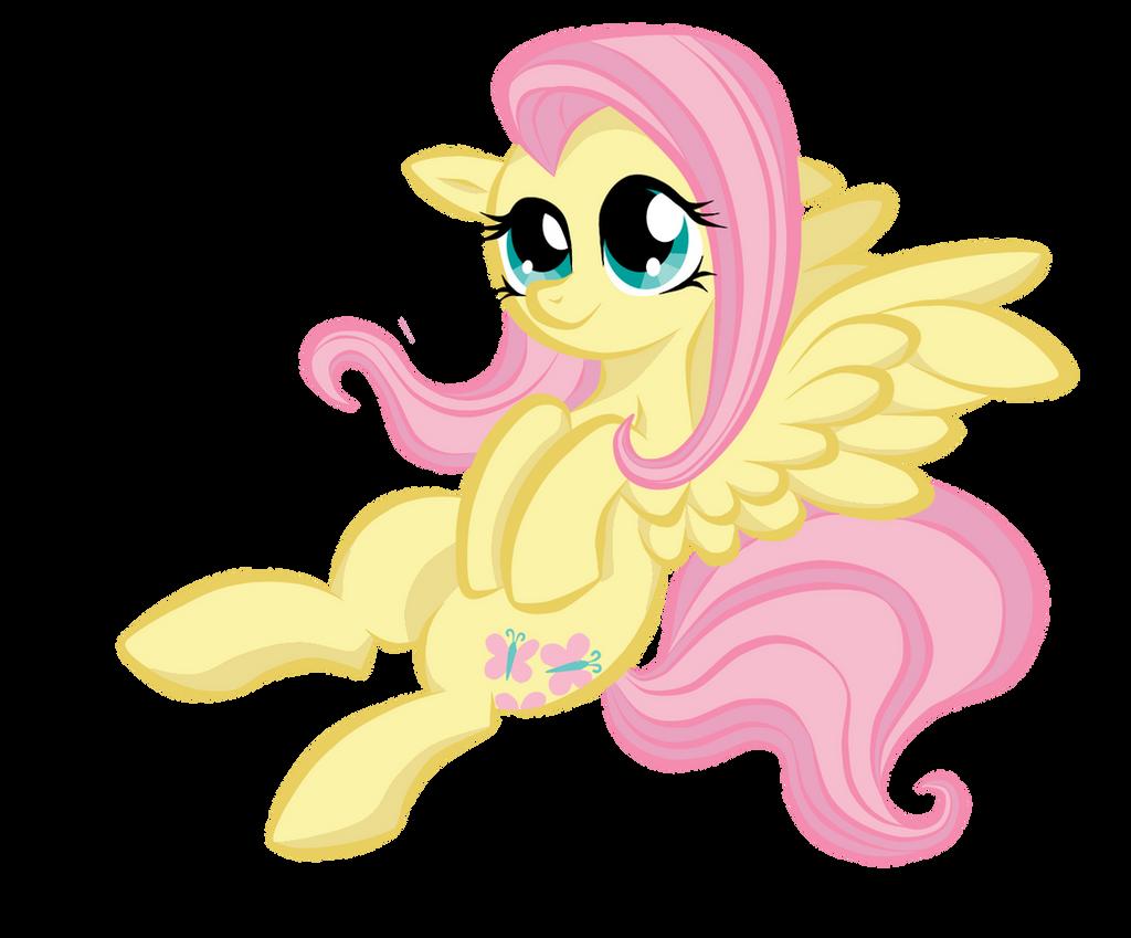 Fluttershy by BuckingAwesomeArt