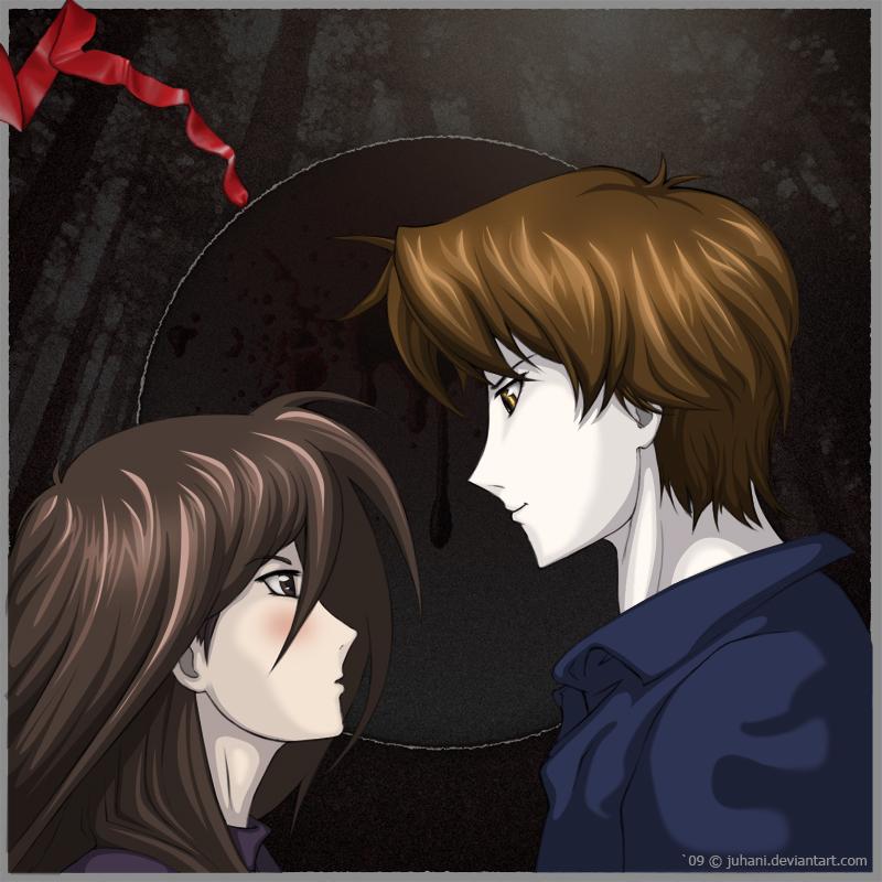 Bella and Edward by Juhani
