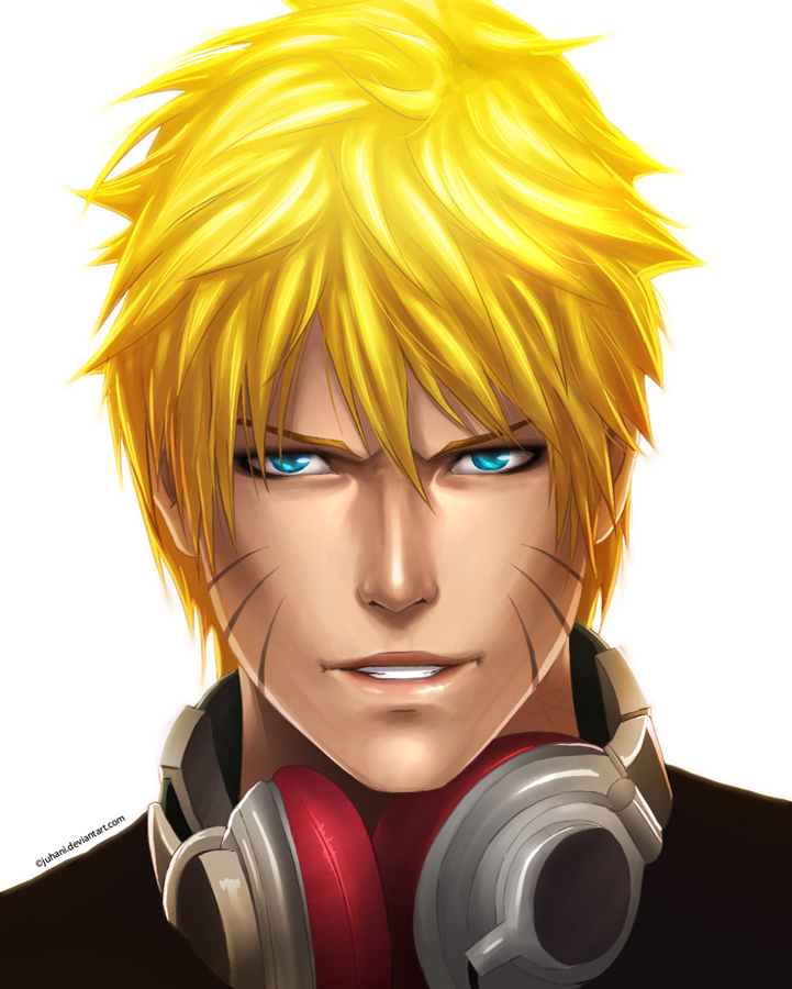 Naruto Portrait by Juhani