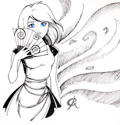 Inktober Maid
