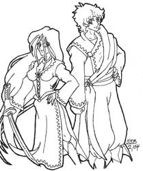Bacchus and Demeter by Sybil