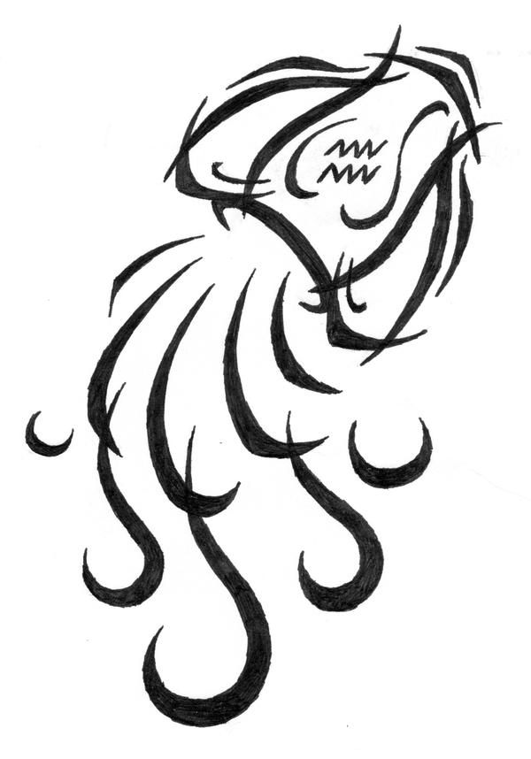 Aquarius Tribal Tattoo By Sybil On DeviantArt