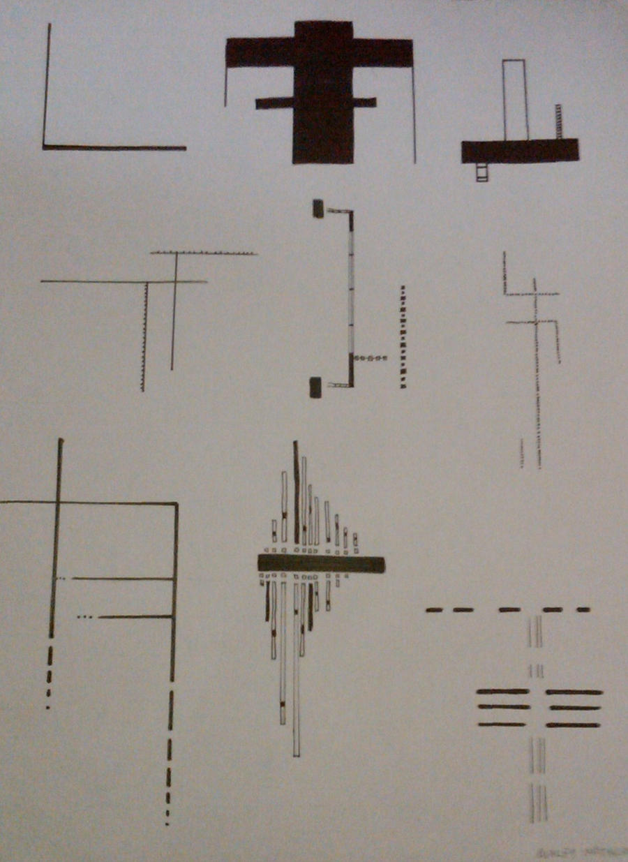 Drawing With Horizontal Lines : Vertical and horizontal lines by crimsonashtree on deviantart