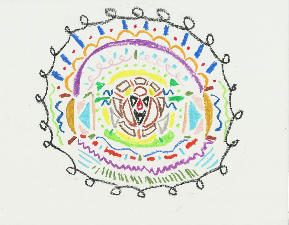 Mandala 2 by crimsonashtree