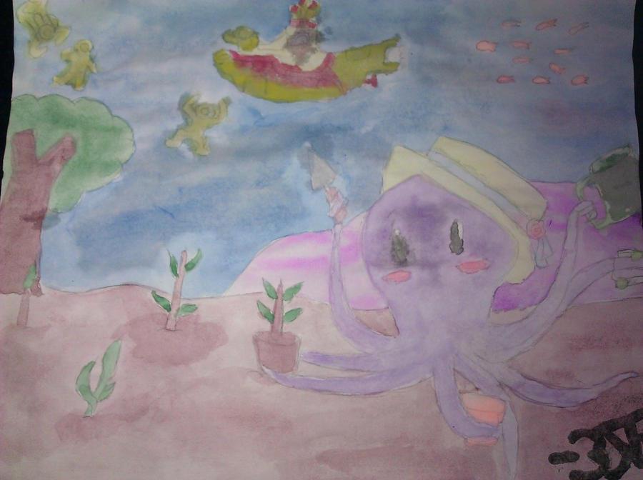 Octopus 39 S Garden By Drefeno On Deviantart