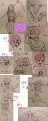 Characters Dump by drefeno