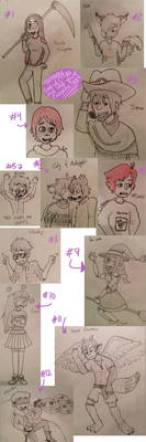 Characters Dump