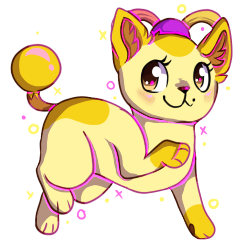 cat (Chibi COM) by RubyBug
