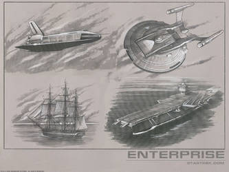 Enterprise Background by PFreeman008