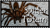 Spider Totem Stamp by VampsStock