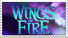 Wings of Fire Stamp by VampsStock