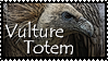 Vulture Totem Stamp by VampsStock