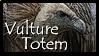 Vulture Totem Stamp
