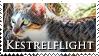 Kestrelflight Stamp by VampsStock