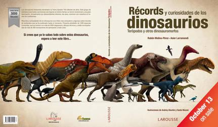 Records de los dinosaurios teropodos - cubierta by Asier-Larramendi