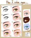 Tutorial - How I color eyes