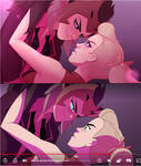 Screenshot Redraw / She-Ra - Catra and Adora