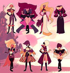 Gem fusion adopts : Sunset Opals [CLOSED]