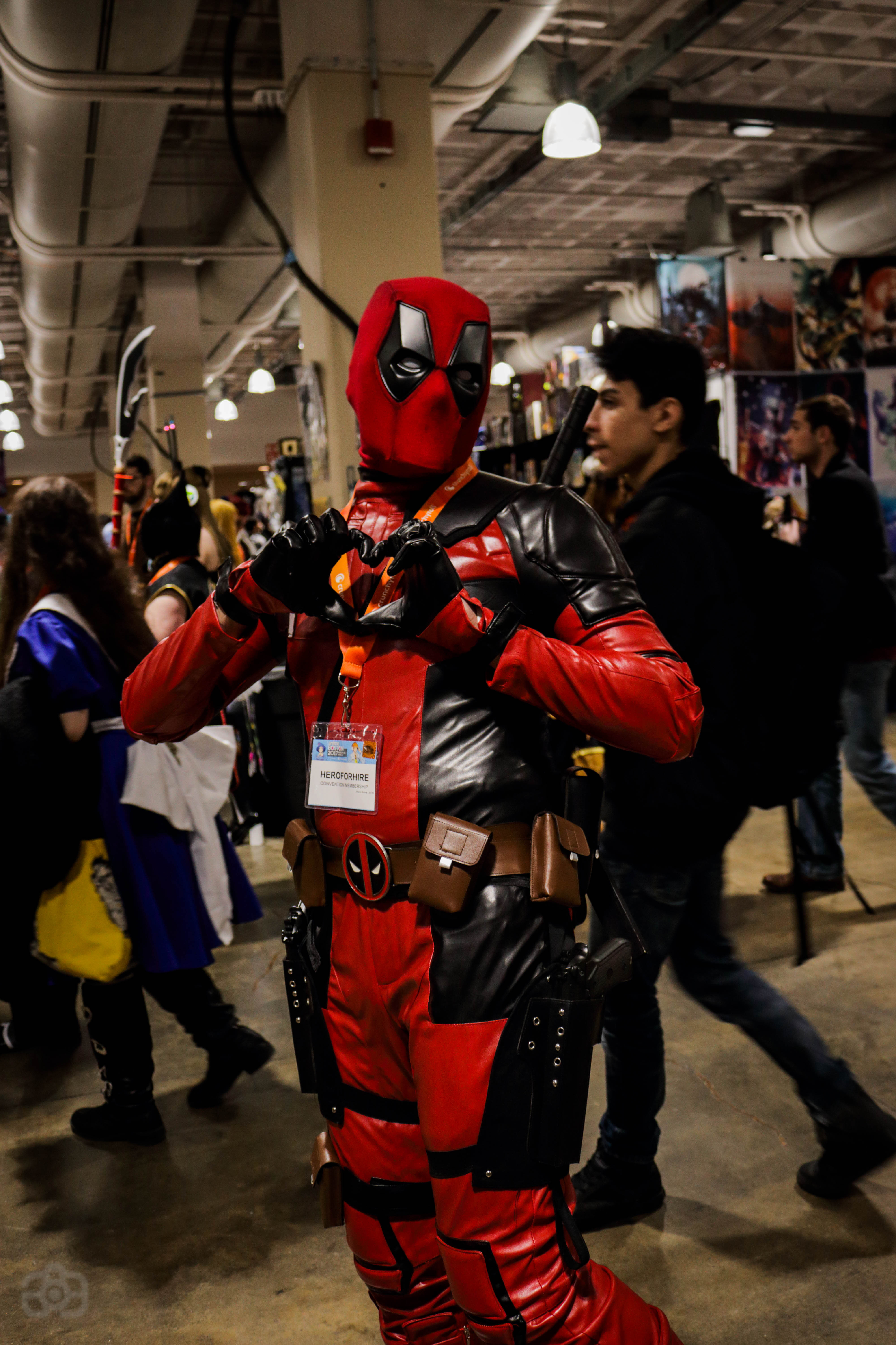 Deadpool cosplay by Artisticgram