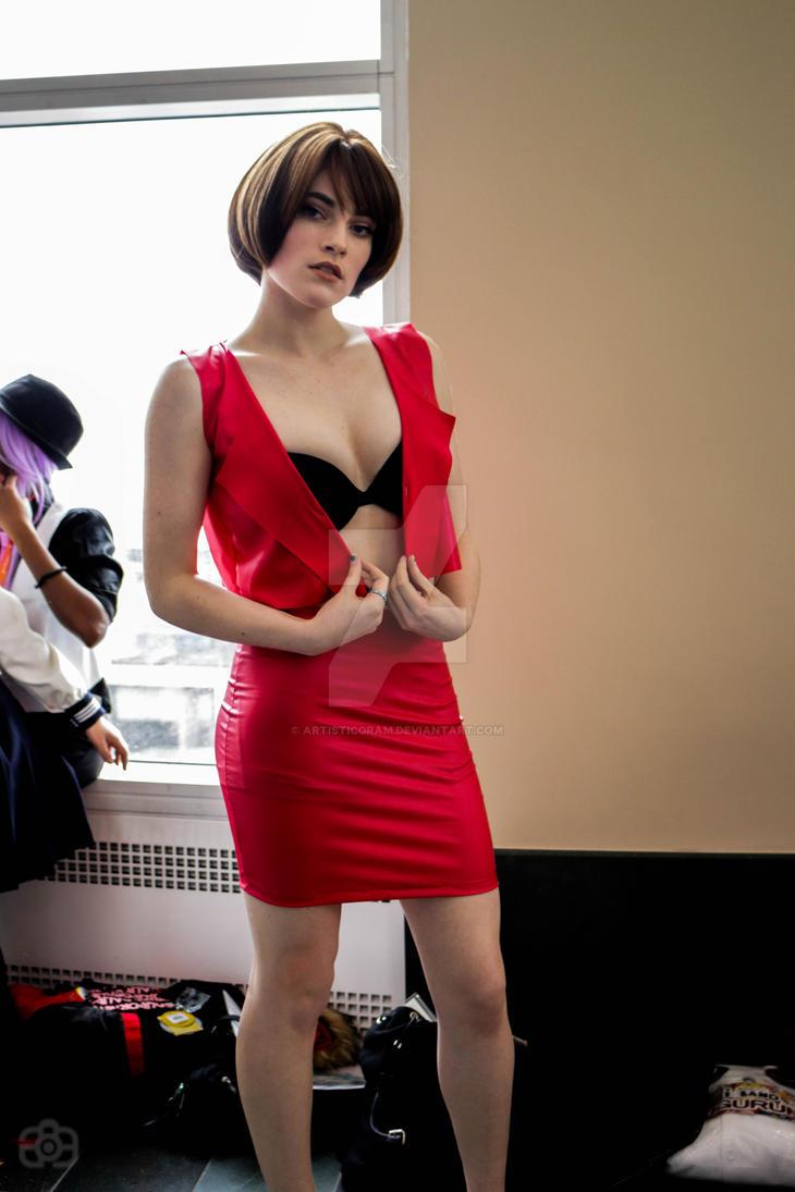 Vocaloid Meiko cosplay by Artisticgram