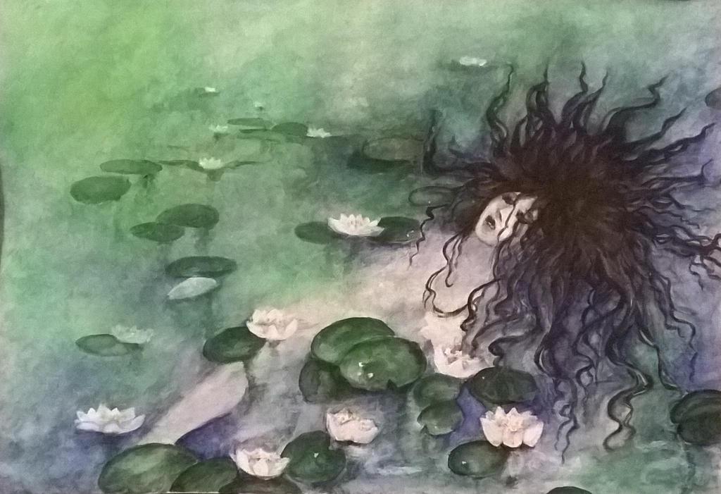 Floating pale by AanZku
