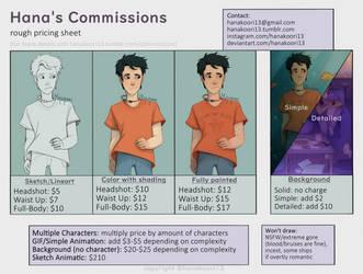 Commission Info by Hanakoori13