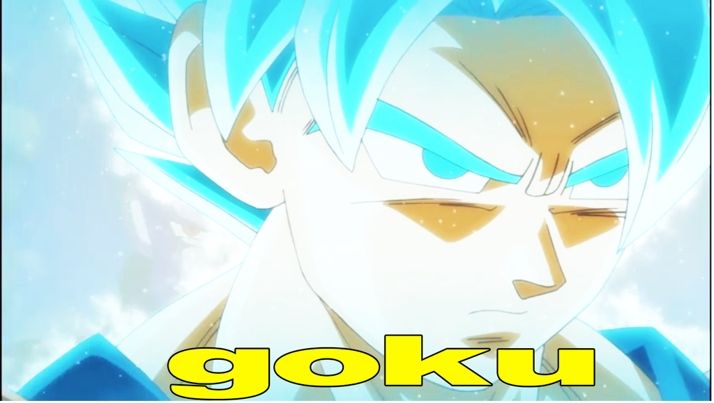 Goku Super Sayayin Dios Azul By Franciscopro On DeviantArt