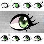Silly lil eye tutorial?