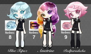 EARLY SALE! Houseki no Kuni Adopts! (CLOSED by Lovewhile