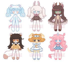 Little animals batch (1/6 open)