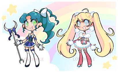 MAGICAL GIRLS one-offs! (1/2 OPEN)