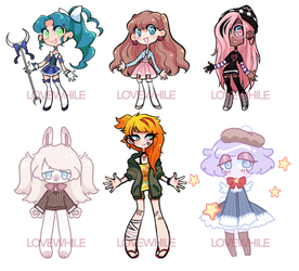 Mixed adopts! (3/6 OPEN)