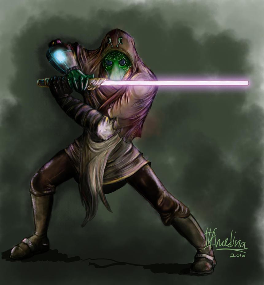 Rodian Jedi by 29thsep