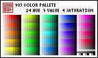 Pixel Palette - 905-color