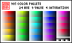 Pixel Palette - 905-color by almyki