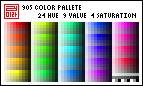 Pixel Palette - 905-color by almyki